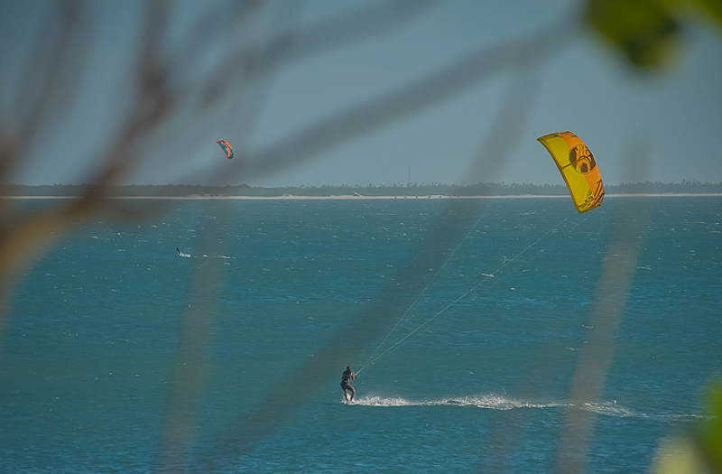 Kitesurfing July